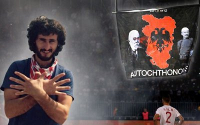 Albanian fan wanted for enraging Serbian nationalists freed