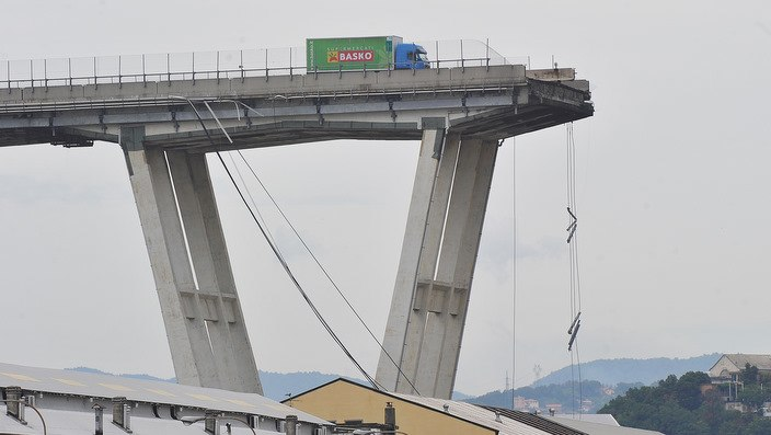 Tragedy in Genova: Morandi's bridge collapsed on Tuesday, 14th August 2018