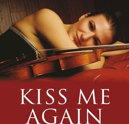 """""""Kiss Me Again: A Memoir of Elgar in Unusual Places"""" book cover by Alda Dizdari (Author)"""