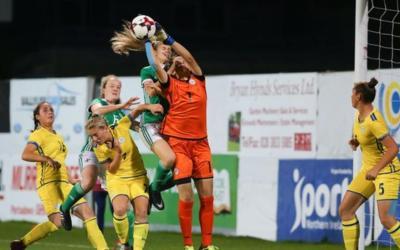 Women's Under-19 Euro qualifier: Northern Ireland unable to break the stubborn Kosovan resistance
