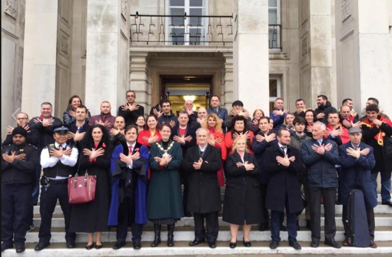 Dita e Flamurit u festua edhe ne Bashkine e Walthamstow ne Londer