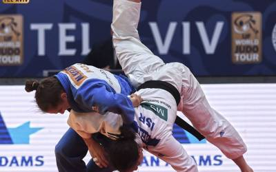 Olympic Champion Majlinda Kelmendi demolishes her way to the Tel Aviv Grand Prix final (Video)