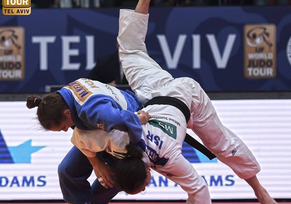 Olympic Champion Majlinda Kelmendi demolishes her way to the Tel Aviv Grand Prix final (Video)