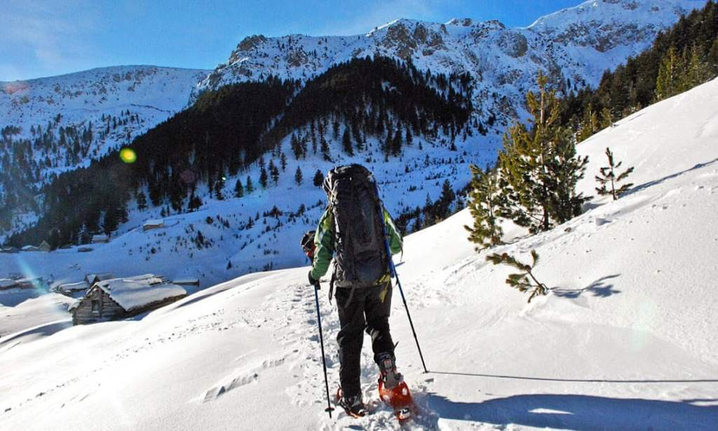 Snowshoeing in Kosovo with Butterfly Outdoor Adventure