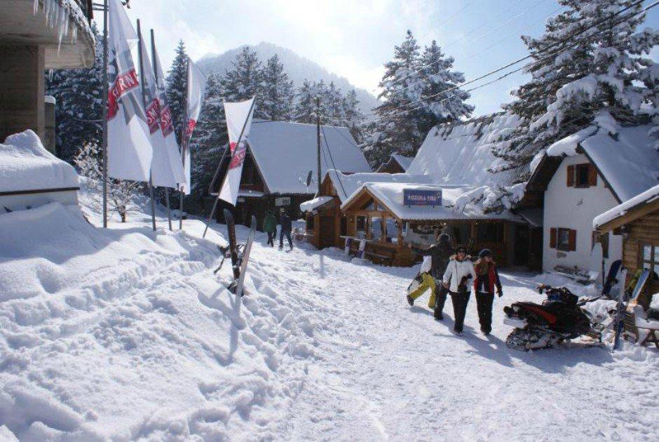 Ski resort Brezovica. Photo: Wikipedia/David Bailey