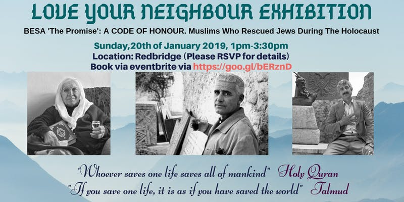 London mosque to host a Jewish exhibition on Albanian heroes of the Holocaust after Golders Green cancellation