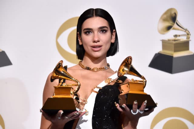 Dua Lipa, the first Albanian woman in history to win a Grammy!