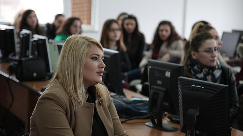 Kosovo women pursue online employment by using internet