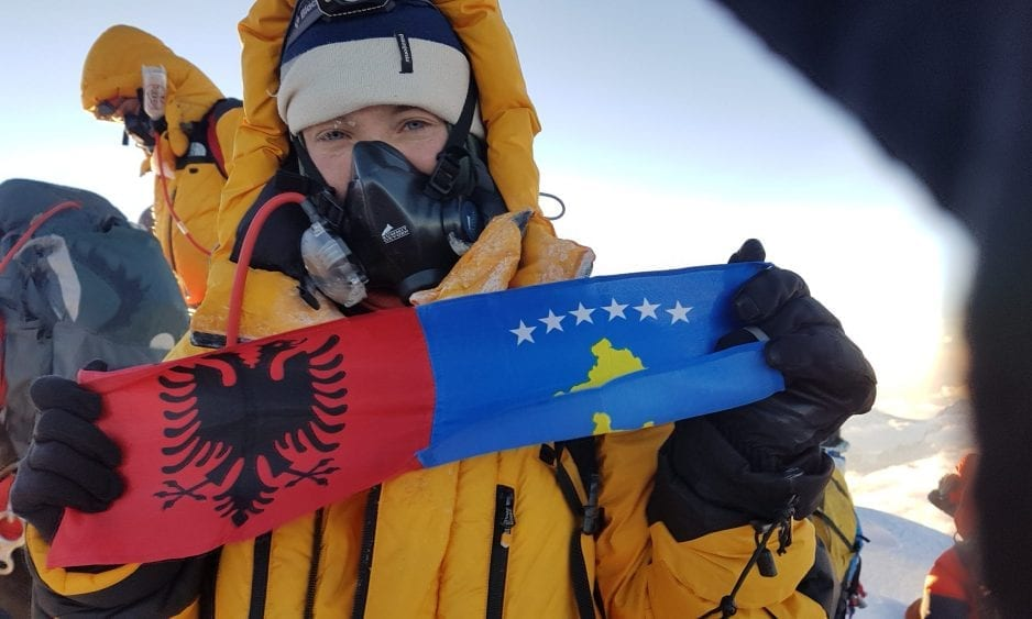 Uta Ibrahimi: Kosovo's first Everest girl and her climb towards gender equality