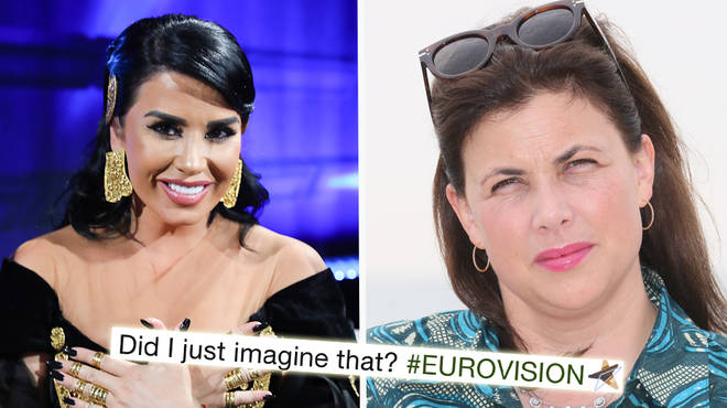 Kirstie Allsop responds after the Eurovision host likened her to Albania's entry