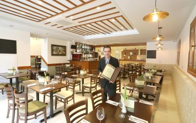"""Step inside brothers Lleshi """"Osteria Veneziana restaurant"""" in Colchester"""