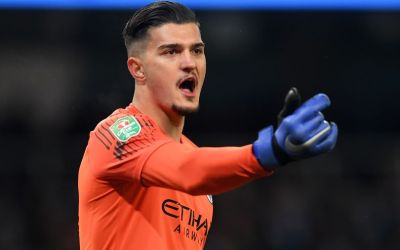 "The Swiss-born Kosovan, Manchester City goalkeeper Arijanet Muric ""is got ice in his veins"""