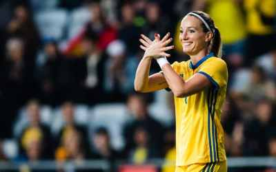 Kosovare Asllani, a poster girl for Sweden's immigrant communities