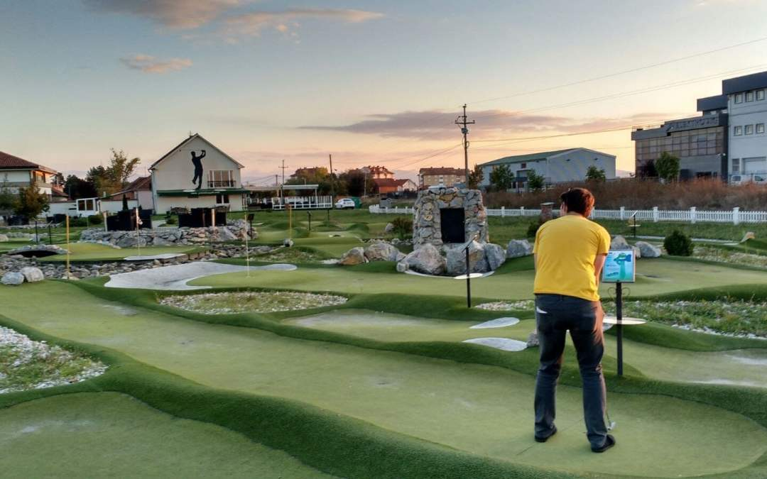 Prishtina Golf among ten of the world's most sensational minigolf courses