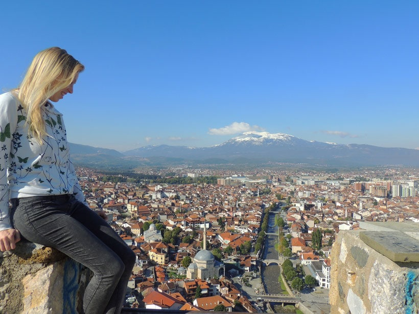 View from Prizren's Fortress, Kosovo