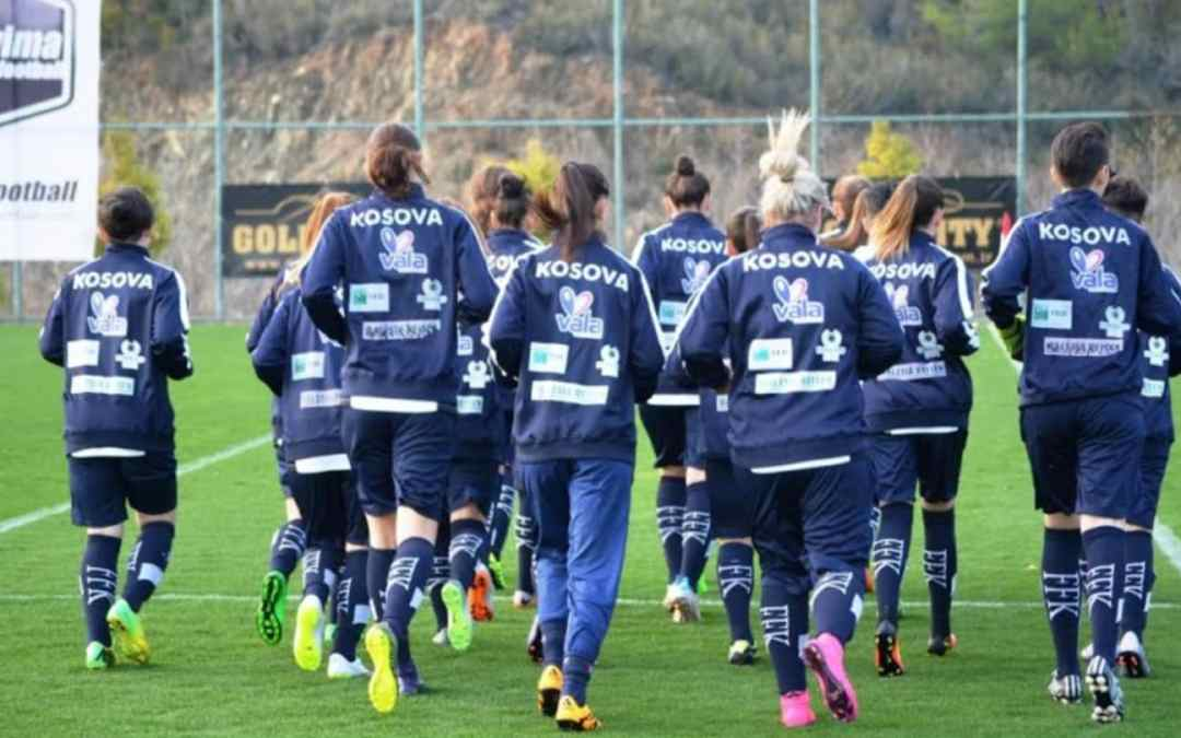 Kosovo women's national team rose four places in the latest world rankings