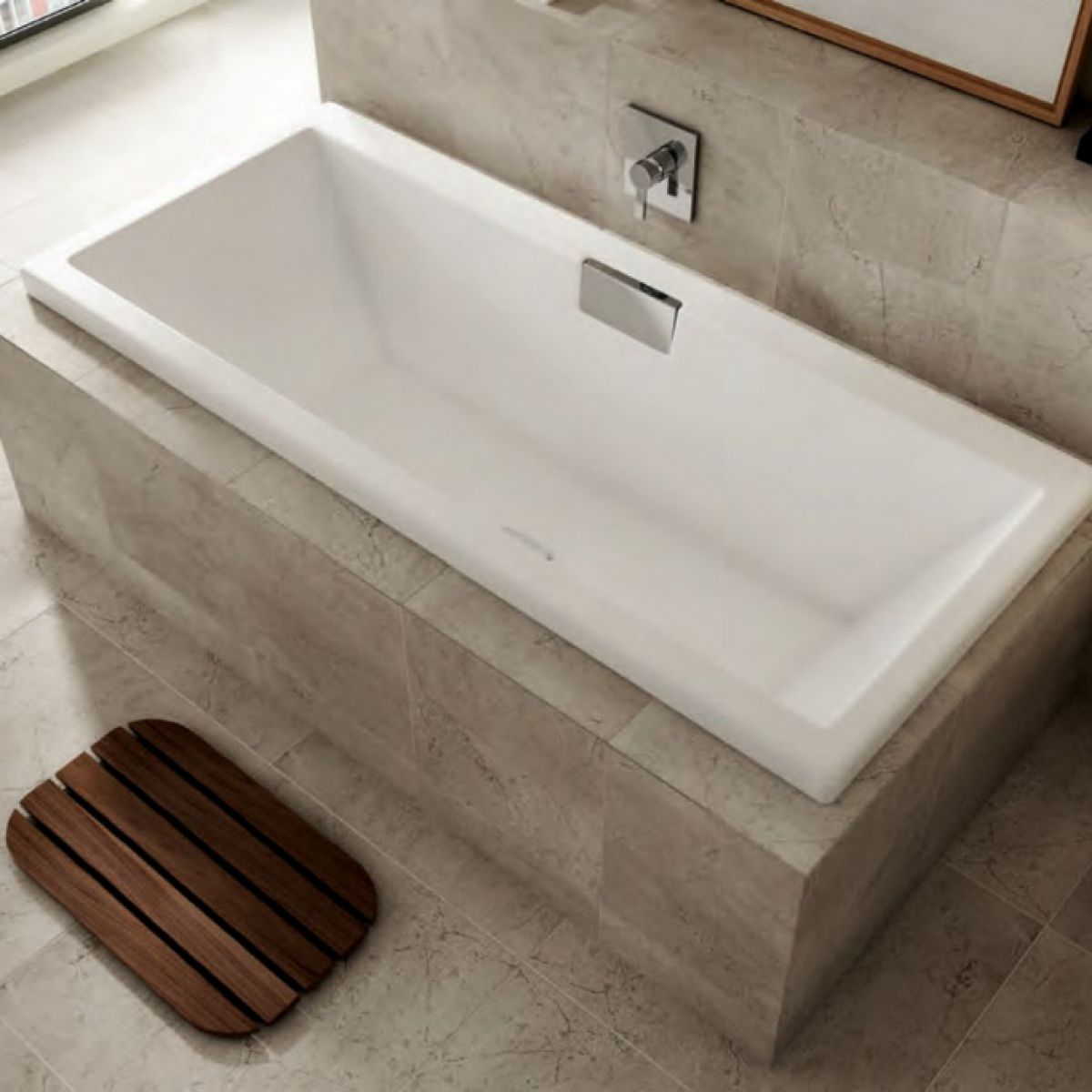 Carron Celsius 1800 X 800mm Double Ended Bath UK Bathrooms