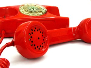 Red phone off hook