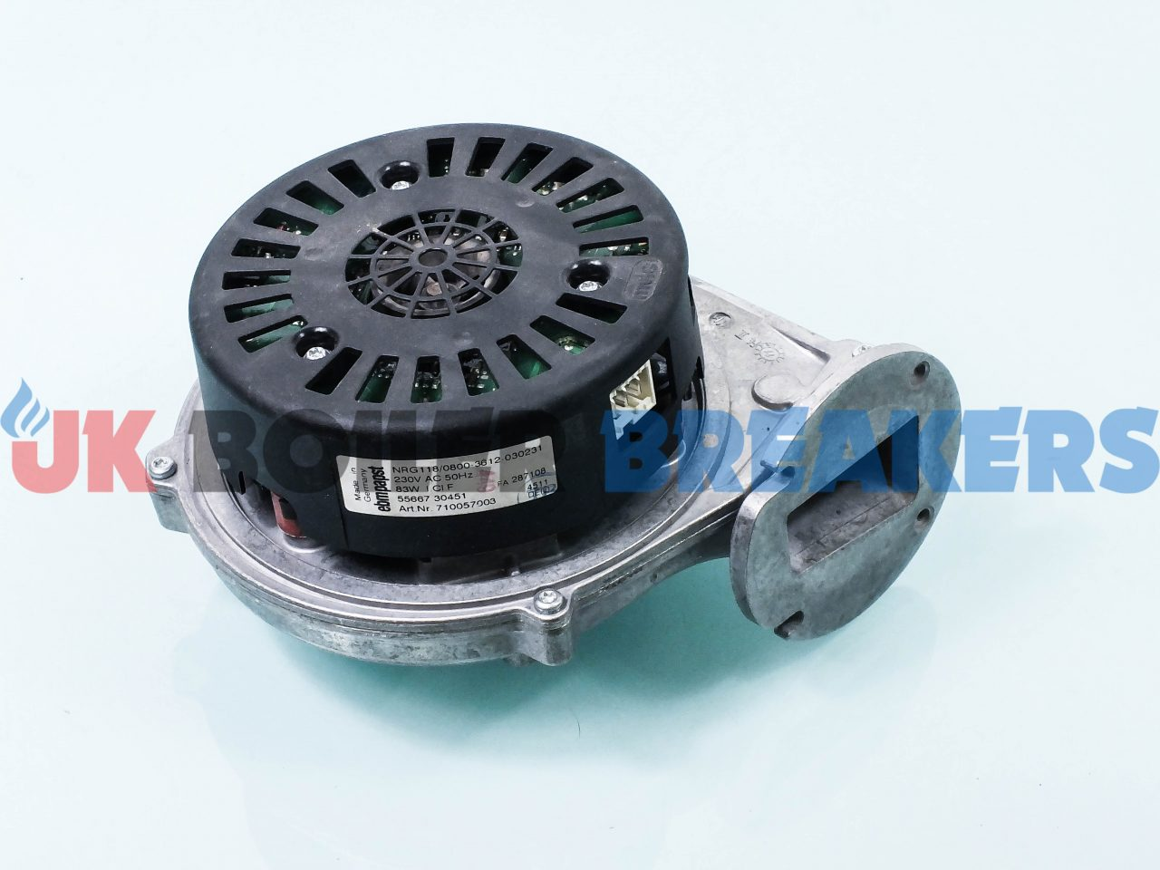 Baxi Fan 720768101 GC- 47-077-25 1