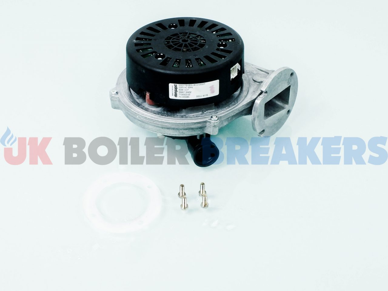 Potterton Fan 72076801 GC- 47-393-57 1