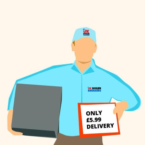 uk boiler breakers delivery man