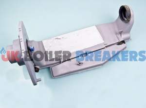 alpha 3.02544 flue manifold pipe assembly 1
