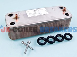 baxi 720776401 plate heat exchanger dhw 14 plate 1