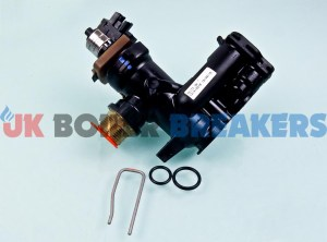 alpha 1.028548 housing outlet manifold with 3 way valve motor 1.033918 1