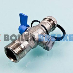 heatrae sadia 95605128 filling loop valve 15mm 1
