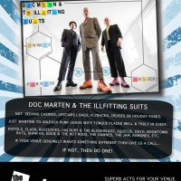 Doc Marten and the ill fitting suits