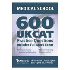 600 UKCAT Questions book