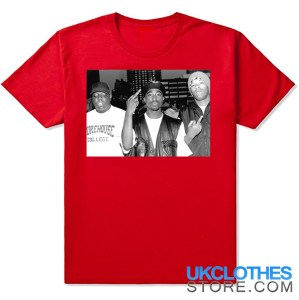 TUPAC AND BIGGIE FRIENDS RED