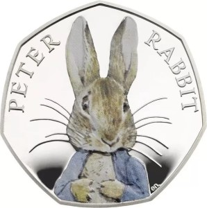Peter Rabbit 50p 2016