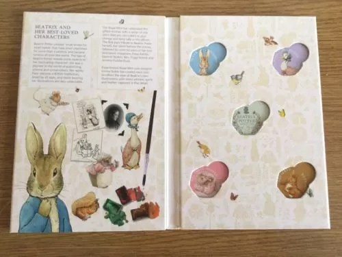 2016 Beatrix Potter 50p Coin Collector Album