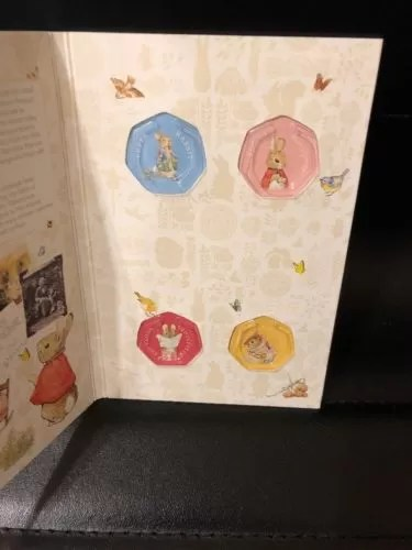2018 Beatrix Potter 50p Coin Collector Album