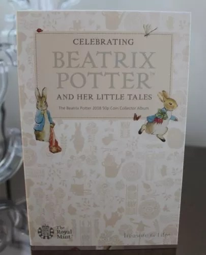 Beatrix Potter 50p Coin Album