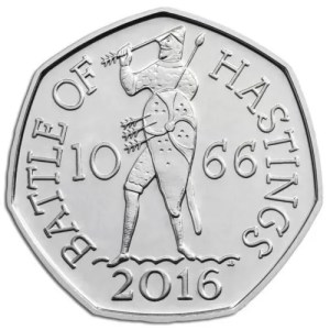Battle of Hastings 50p
