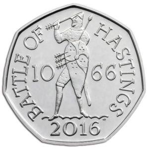 Battle of Hastings 50p
