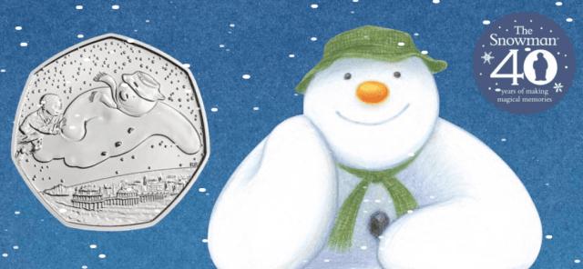 Snowman Green Hat