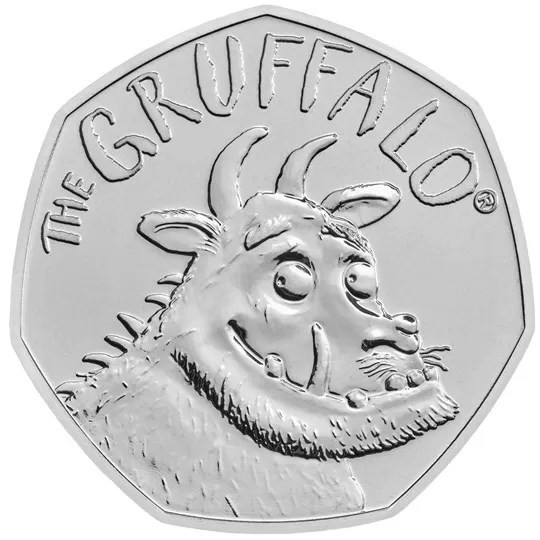 the gruffalo 50p