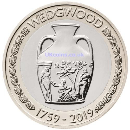 2019 wedgwood coin