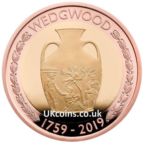 Wedgwood Gold Proof Reverse