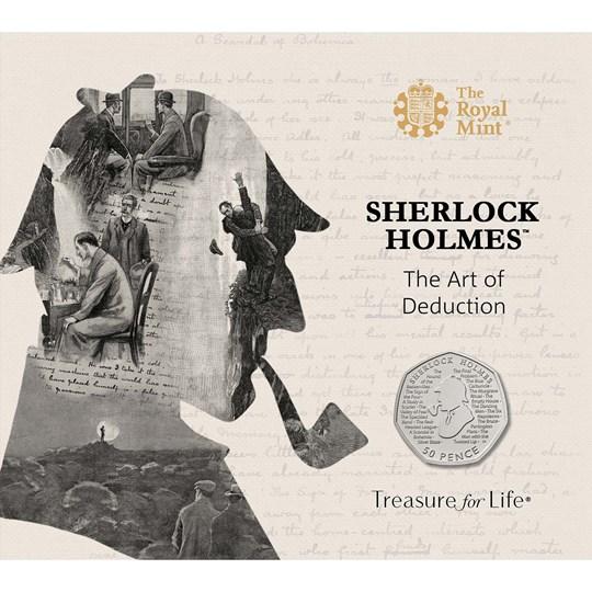 Sherlock Holmes 50p coin pack