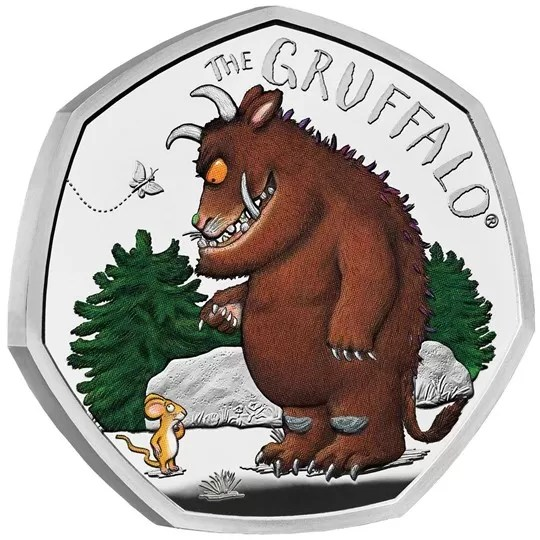 The Gruffalp 50p coin