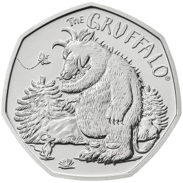 Gruffalo 50p coin