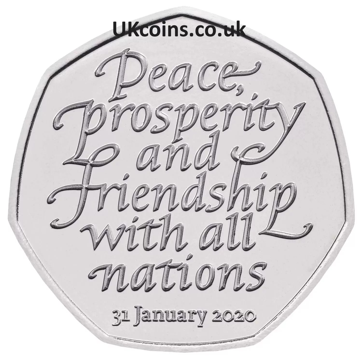 list of uk 50p coins