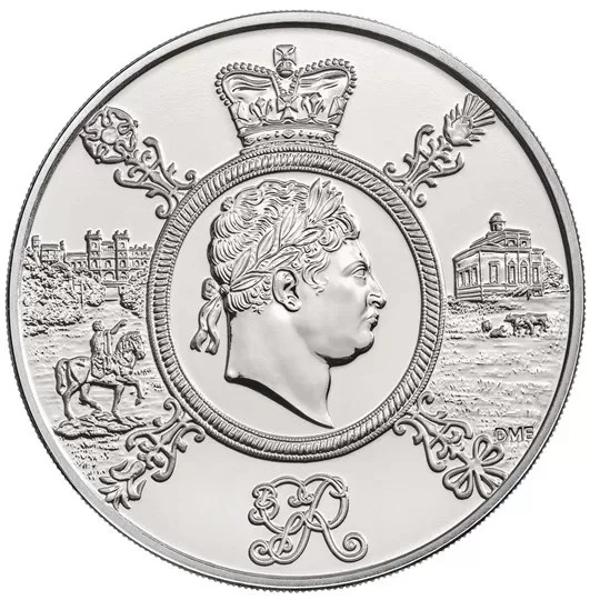 George III £5 Coin