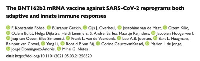 Riprogrammazione della risposta immunitaria