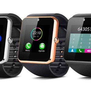 Black Google Android Smart Watch with Sim Slot