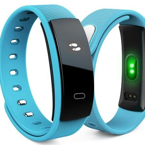 Bluetooth Fitness Smart Watch With Heart Rate Monitor - 5 Colours